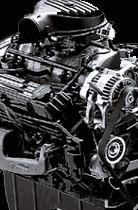 5.9-liter Magnum V-8 Dakota R/T Engine.