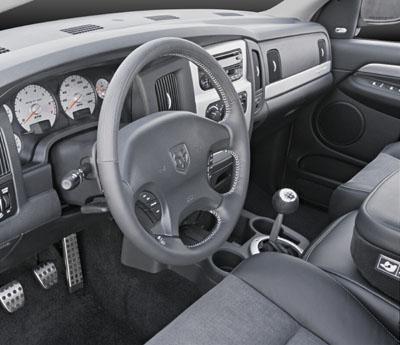 2004 Dodge Ram SRT-10 Inside.